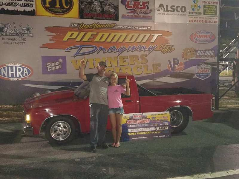 Brett Nesbitt Saturday Gamblers winner Super Doorcar Challenge