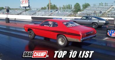 DragChamp Top Ten List 5-2-19