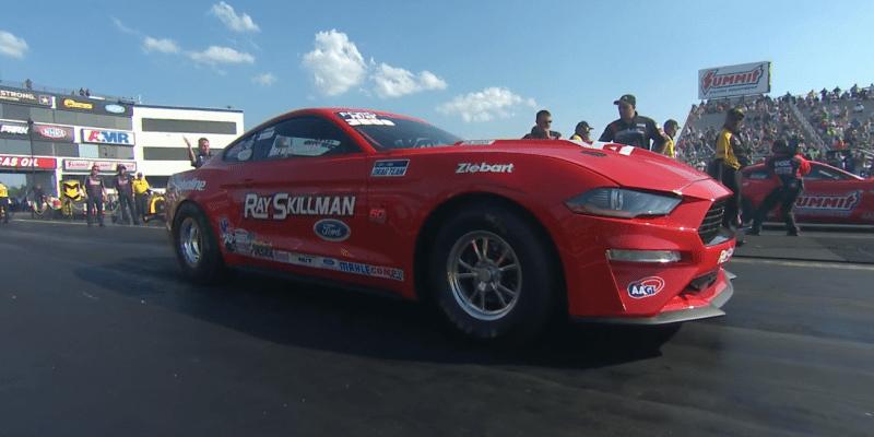 Drew Skillman 2019 NHRA Virginia Nationals Factory Stock Champ