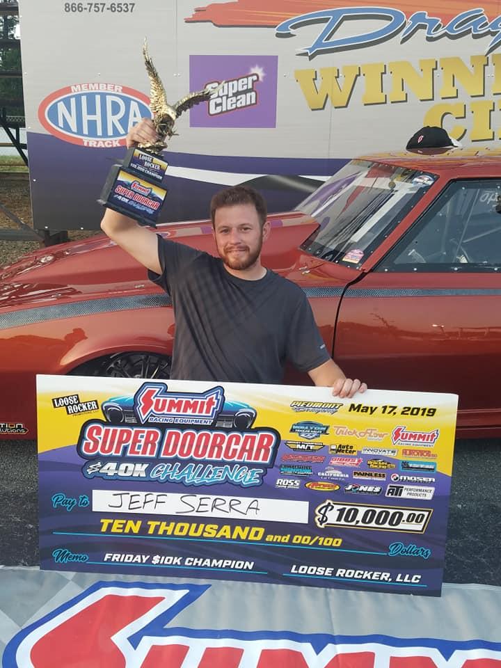 Jeff Serra Friday Super Doorcar Challenge 10K champ