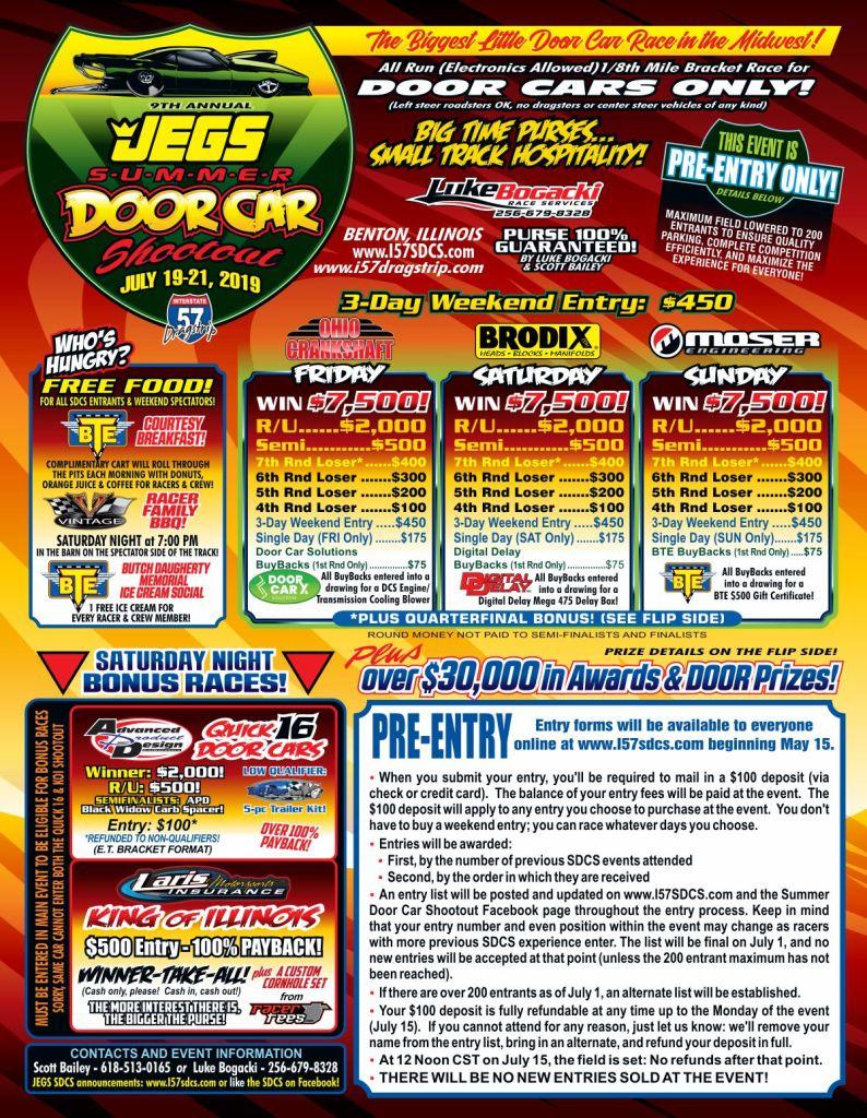 Jegs Summer Door Car Shootout Flyer pg 1
