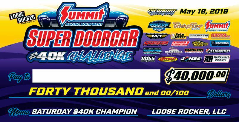 Loose Rocker Super Doorcar 40K Challenge Check