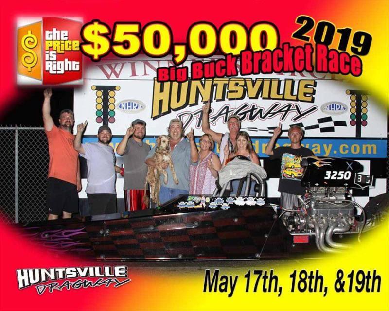 Mike Luedke Huntsville Dragway 2019 $50k winner