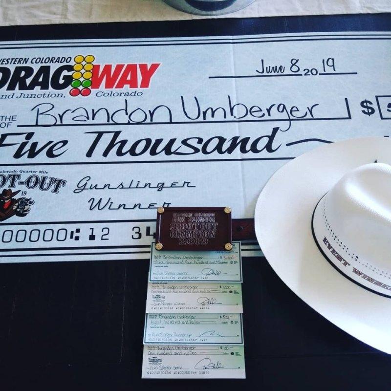 Brandon Umberger Winners Checks