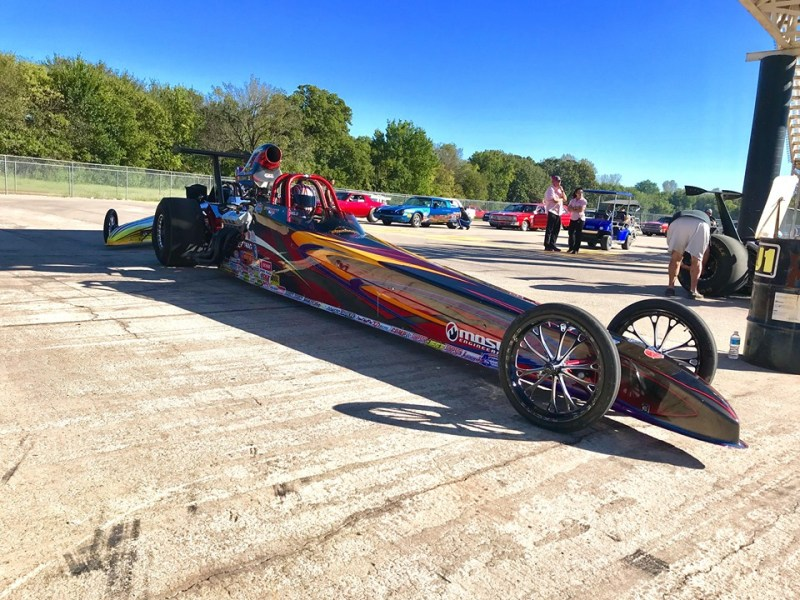 Cole Cummings Super Comp dragster