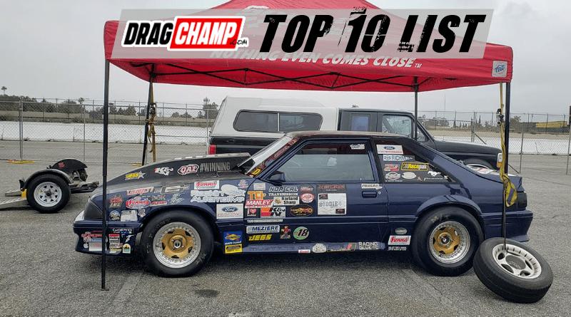 DragChamp Sportsman Racing Top 10 List 6-12-19
