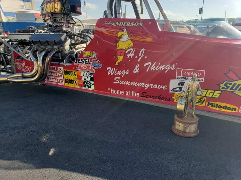Jonathan Anderson Charlotte Four Wide Champion
