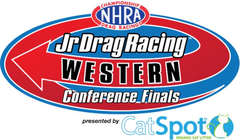 Jr Drag Racing Western Conference Finals Logo