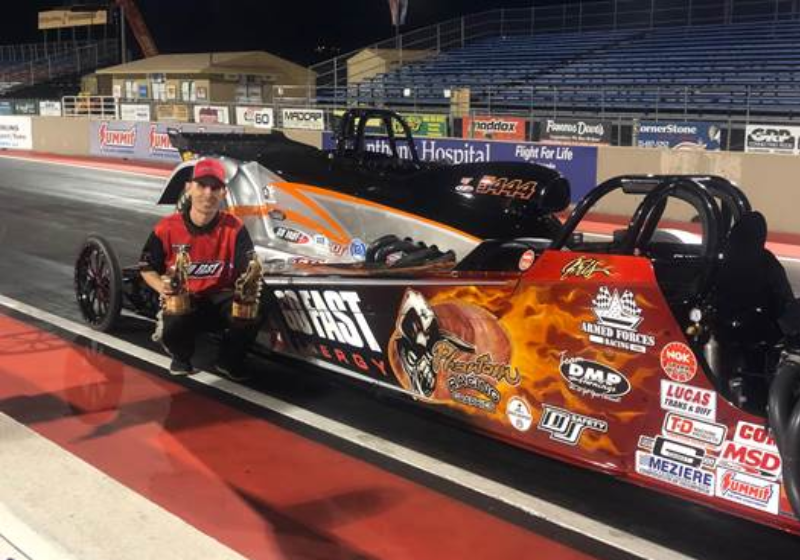 Kris Whitfield double up at Bandimere Lucas Oil series