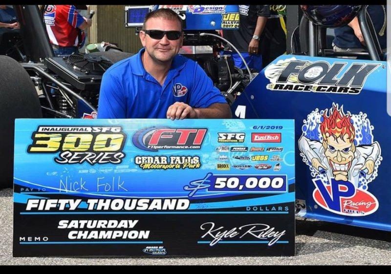 Nick Folk SFG 300 50K winner Cedar Falls 6-1-19