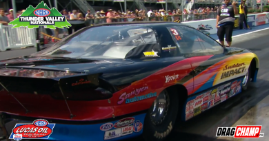 Ray Sawyer wins Super Gas at Thunder Valley Nationals