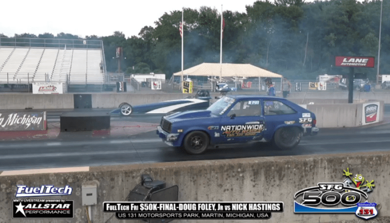 sfg 500 friday 50k final round doug foley jr vs nick hastings