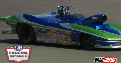 Bo Butner wins Super Gas at NHRA Sonoma Nationals