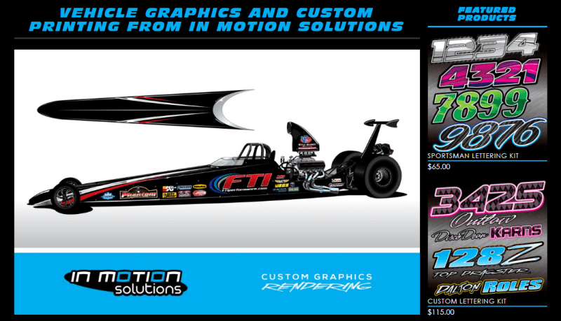 In Motion Solutions Graphic