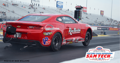 NHRA Factory Stock Showdown 32 car field at US Nationals