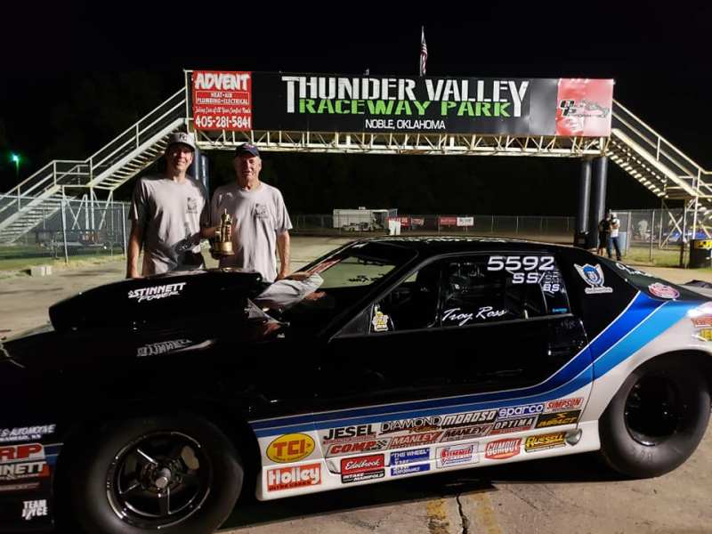 Troy Ross Super Stock winner