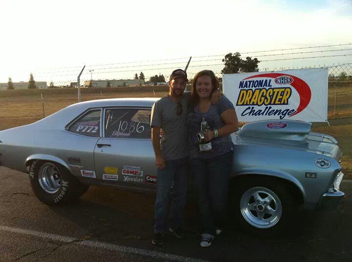 Jeff and Stephanie winners circle