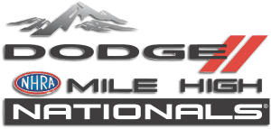 nhra 2019 mile high nationals logo