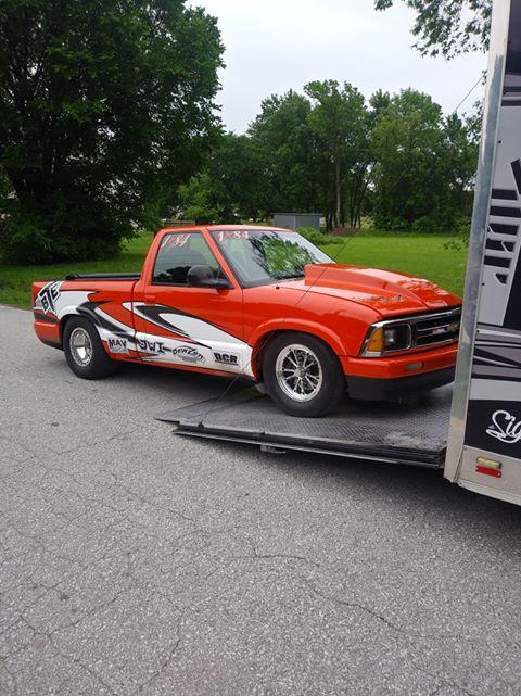 Bryan Walker s-10 truck