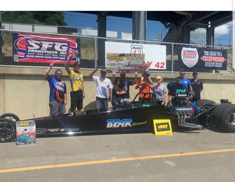 Chris Bear 25K runner up SFG Buckeye Bash