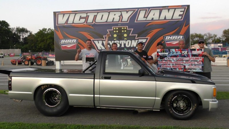 Chris Bear Friday 660 Top Bulb Nats Winners Circle