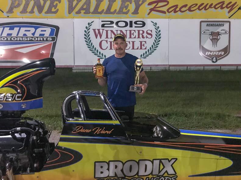 Dane Ward Sat SP Winner