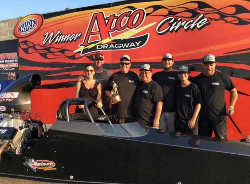 Ed Alessi Jr wins Super Comp at Atco LODRS