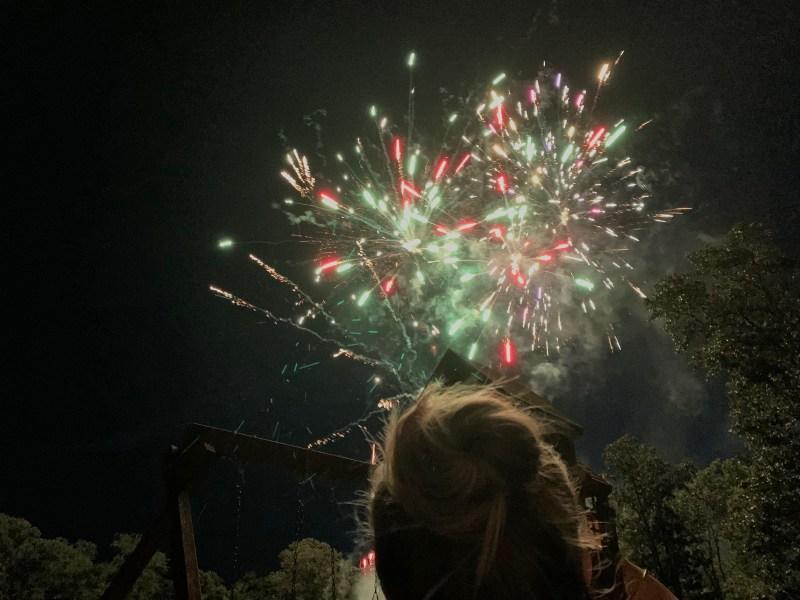 Chase Huffman Racer Blog Fireworks