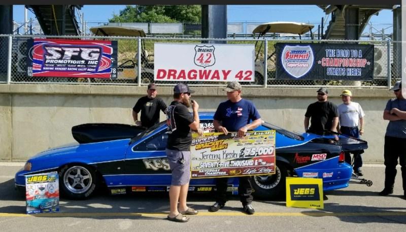 Jeremy Kessler SFG Buckeye Bash 75K winner