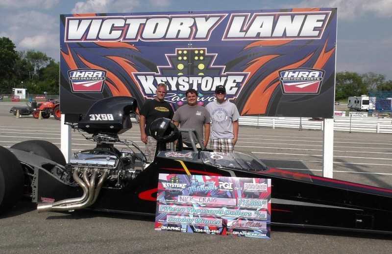 Nick Craig Sunday 660 Top Bulb Nats winner