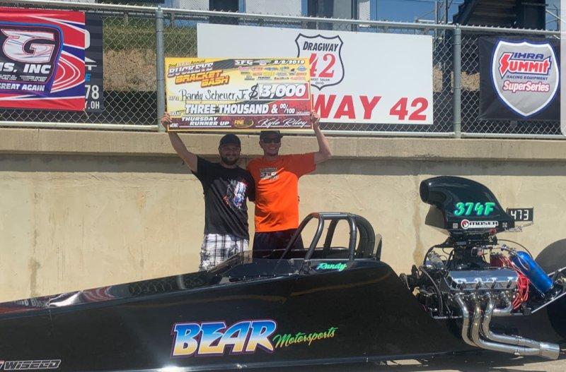 Randy Sheuer SFG Buckeye 15K runner up