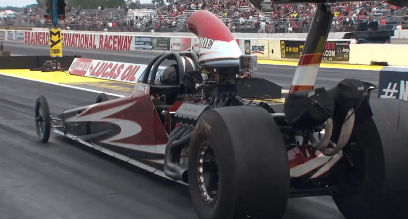 Todd Fleck Top Dragster Lucas Oil Nationals