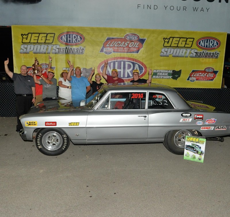 Dan Steed jegs sportsnationals super stock