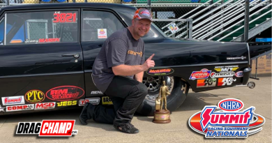 Jeremy Mason Super Gas Champ Summit Racing Nationals