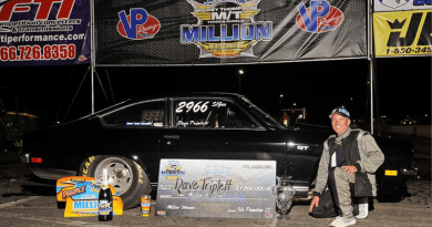 Dave Triplett wins 2019 Million Dollar Drag Race