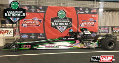 Kevin Brannon wins Top Dragster at Charlotte