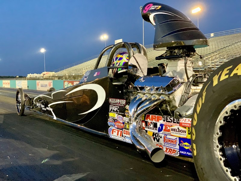 Austin Williams Current Dragster
