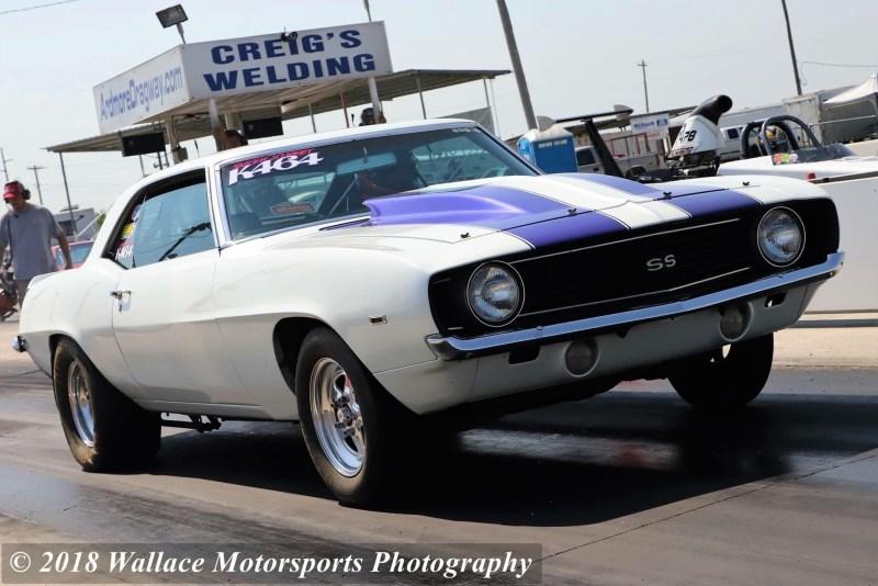Mom Camaro White and Purple