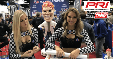 DragChamp at the 2019 PRI Show Day 1