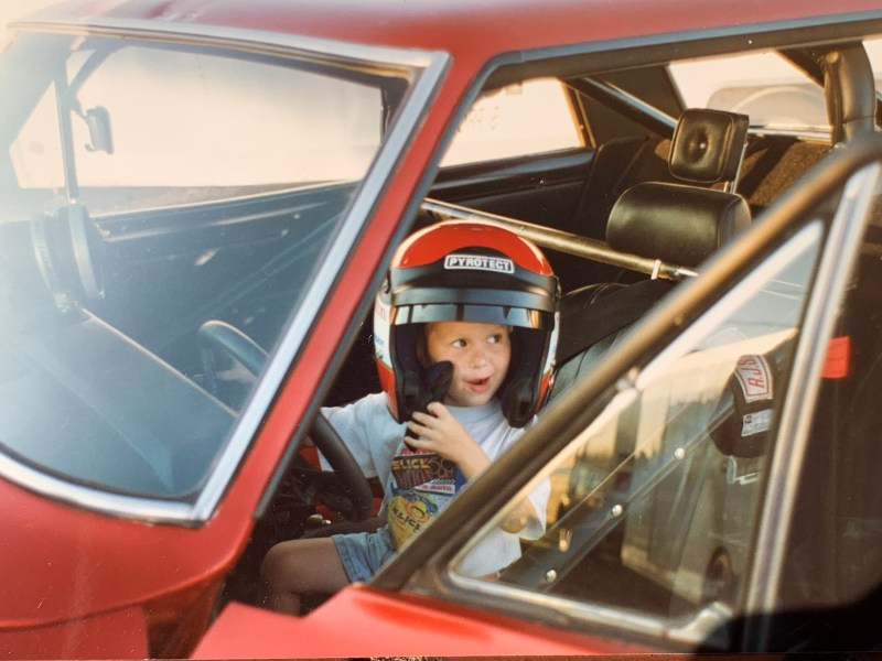 Chase Rampy childhood photo