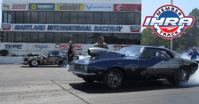 IHRA renews with multiple tracks