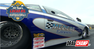 Don Meziere wins Top Sportsman at Winternationals