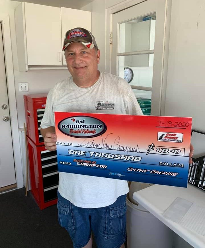 steve van craynest sunday nobox winner jim harrington bracket nationals
