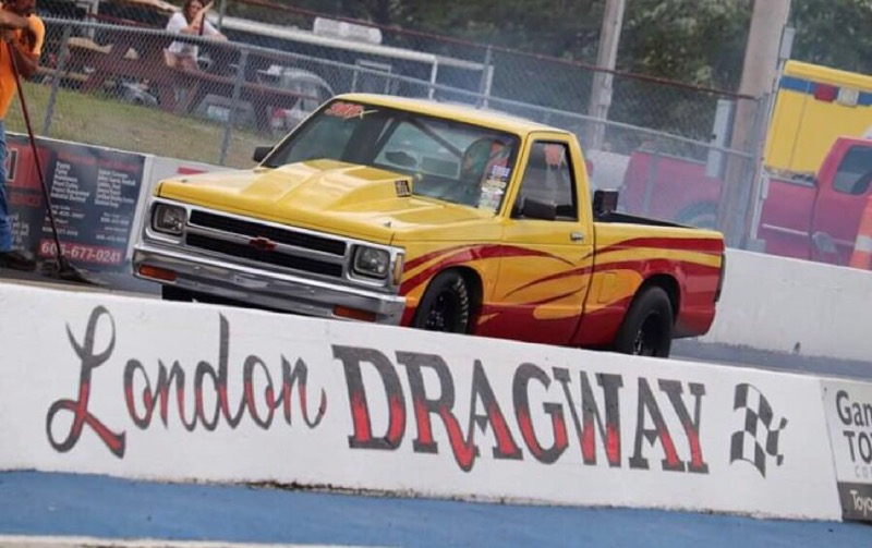 lil phil combs at london dragway