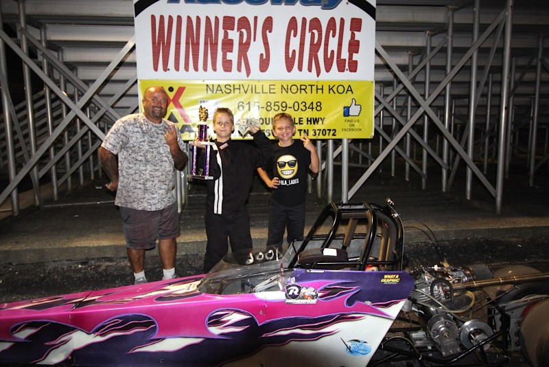 luka gerametta junior dragster runner up
