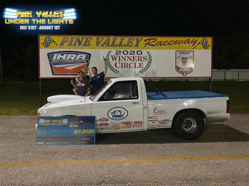 pine valley under the lights no box race 2 winner drew porcher