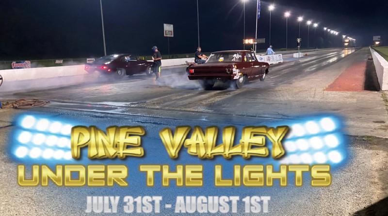 pine valley under the lights logo