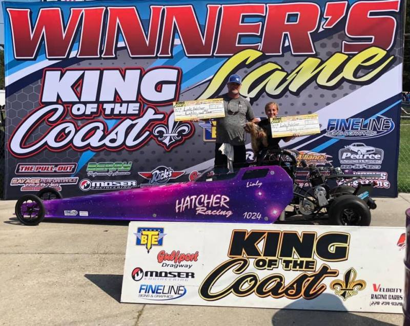 linly hatcher jr 10-12 saturday and sunday runner up KOC