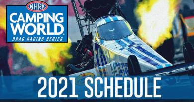 2021 NHRA Camping World Series Schedule
