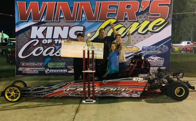 Luke Jordan 13-17 junior dragster winner sunday